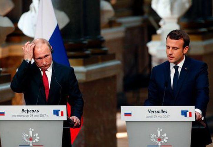 Francia bombardea desde hace dos años enclaves del Estado Islámico. (Milenio)