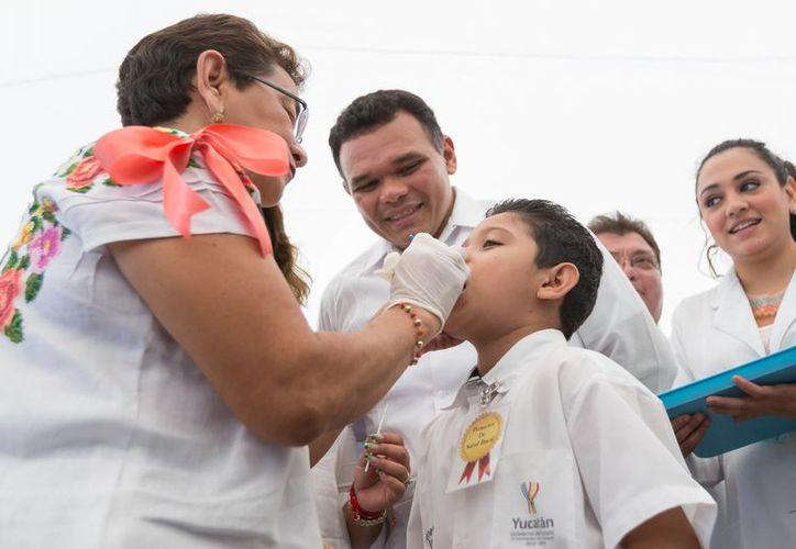 La Segunda Semana Nacional de Salud Bucal ayudará en 443 escuelas de educación básica y plazas públicas. (SIPSE)