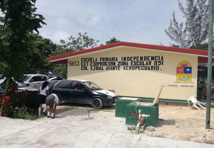 Los únicos apoyos que ha recibido la escuela han sido por parte de el Club Rotario Internacional. (Foto: Redacción/SIPSE).