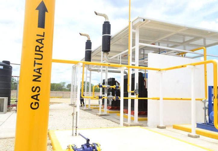 Recientemente se instaló en Yucatán una planta de distribución de gas natural. (Milenio Novedades)