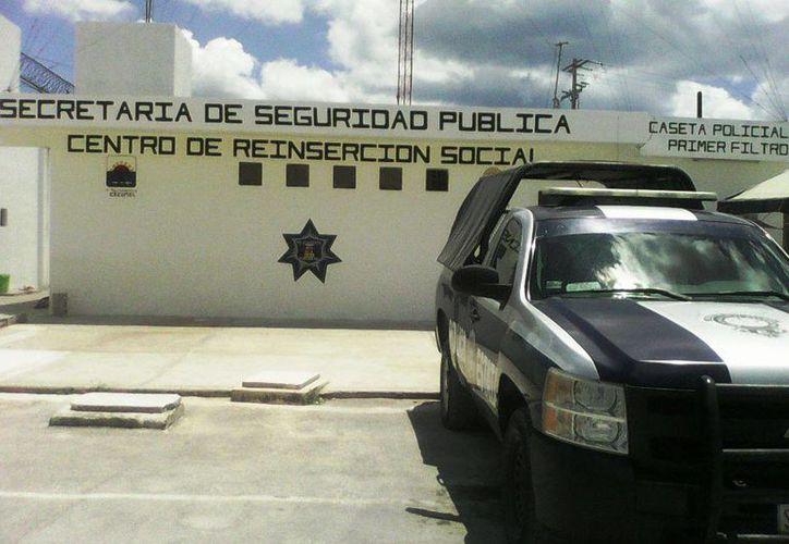 Dos internos de la Cárcel de Cozumel serán certificados como capacitadores del ICAT. (Irving Canul/SIPSE)