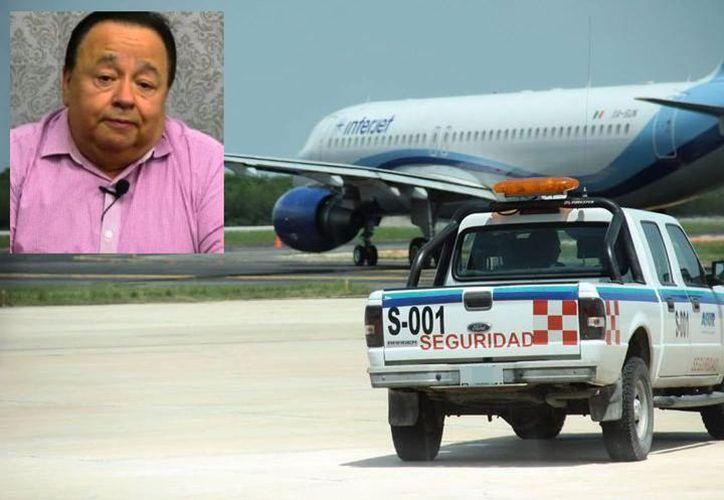 El abogado se dirigía a Yucatán en el vuelo 535 de la aerolínea Interjet. (Novedades Yucatán)