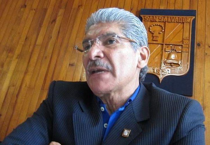 El candidato Norman Quijano ha prometido que aplicará mano dura contra pandilleros. (elsalvadornoticias.net)