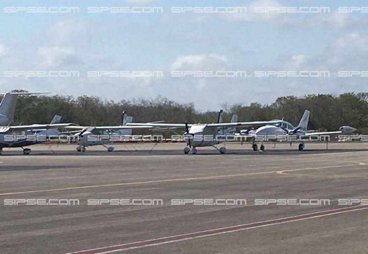Este viernes por la mañana fue inaugurada la nueva terminal FBO, de aviación privada, del aeropuerto internacional de Mérida. (Ana Hernández/SIPSE)