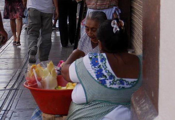 """Las """"palanganeras"""" que están siendo retiradas de las nueve manzanas del Centro Histórico. (Milenio Novedades)"""