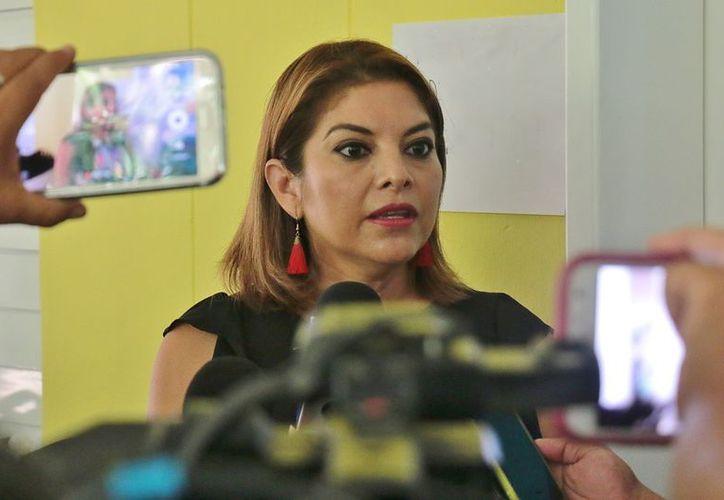 Genny Vanessa Gracia Aguilar, coordinadora académica de la Uqroo rechazó las acusaciones. (Gustavo Villegas/SIPSE)