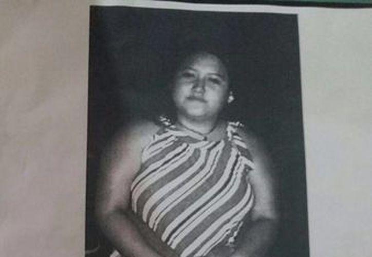 Familiares de María del Carmen Balam Che piden ayuda para localizarla. (Milenio Novedades)