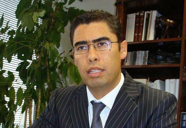 Osvaldo Santín, jefe del SAT, explicó el proceso de la condonación del pago de impuestos. (La voz del estado)
