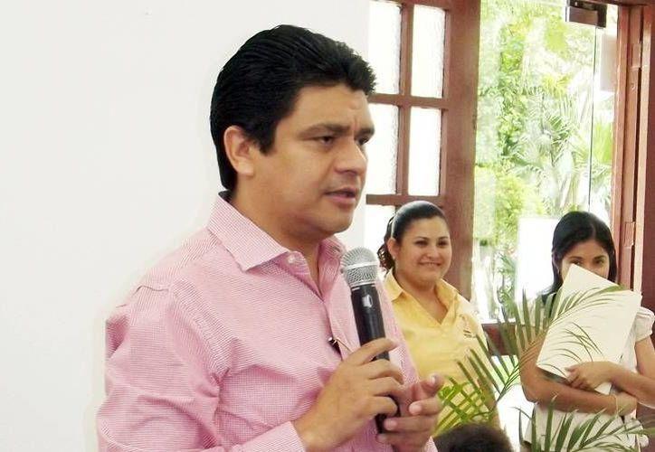 El presidente de la Codhey, Jorge Victoria Maldonado. (Milenio Novedades)
