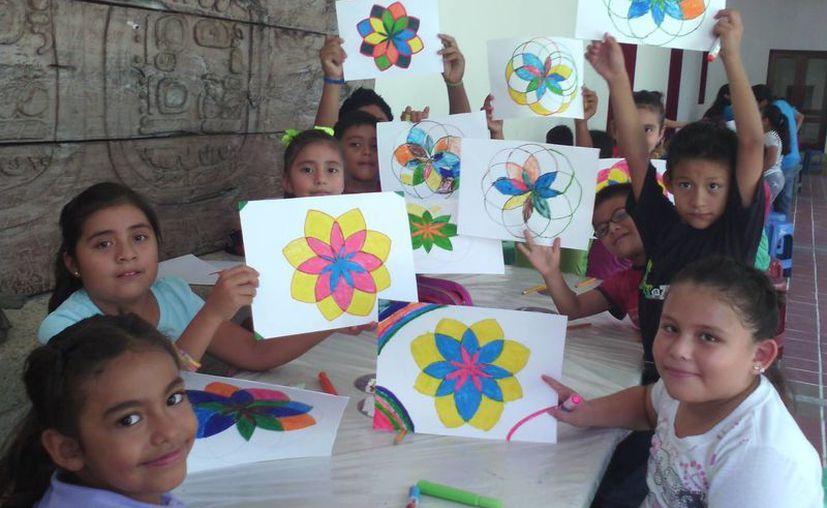 El proyecto tuvo la participación de cien niños. (Jorge Carrillo/SIPSE)