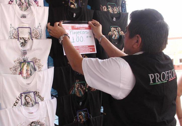 Los inspectores de la Profeco participan en programas durante todo el año. (Milenio Novedades)