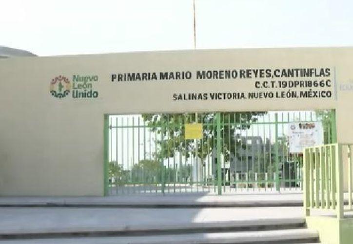 Los padres denunciaron a la docente de la primaria Mario Moreno 'Cantinflas'. (Milenio)