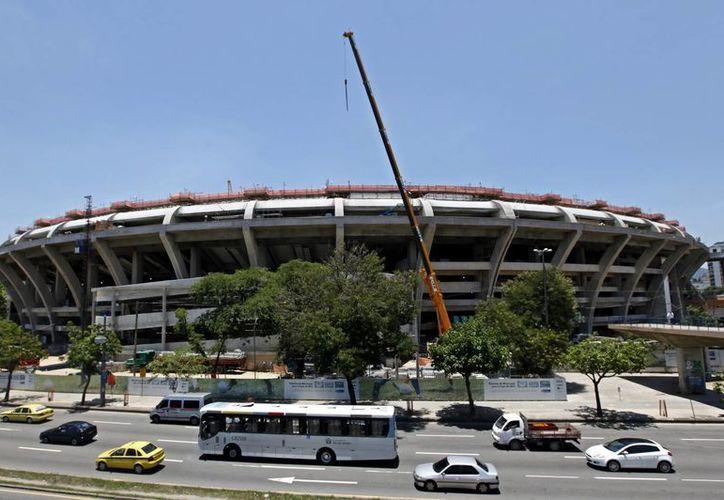 El Maracaná es el quinto estadio mundialista concluido, con cuatro meses de retraso en relación al calendario original de la FIFA. (EFE/Archivo)