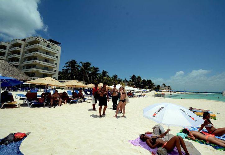 Se trabaja continuamente en el cuidado y protección de las playas de la ínsula. (Cortesía/SIPSE)