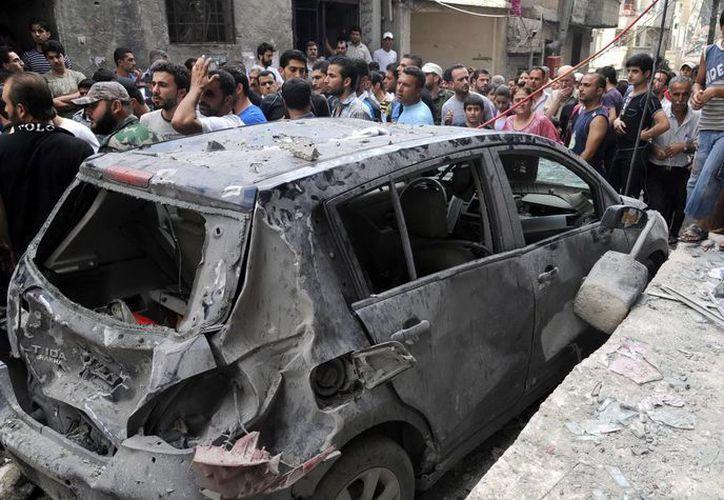 El ataque en Kfar Batna tuvo lugar horas después de que un carro bomba estalló en el barrio de Kfar Susa. (Archivo/EFE)
