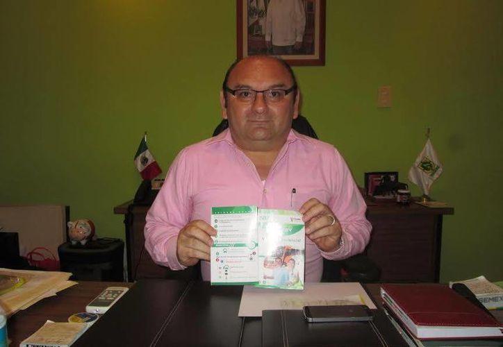 Humberto Hevia: en el primer trimestre de este año, la Dirección de Transporte estatal ha impedido la circulación de 18 vehículos de particulares que prestan servicio de transporte de pasajeros. (Foto cortesía del Gobierno de Yucatán)