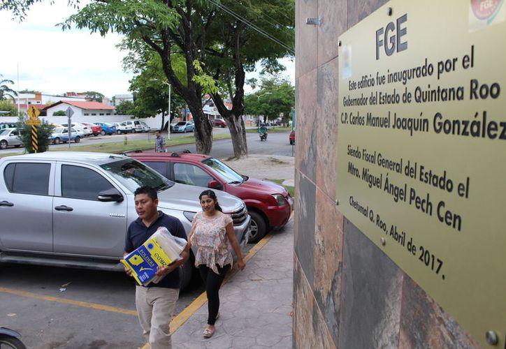 Se trata de agentes de la Policía Ministerial así como algunos Fiscales del Ministerio Público. Los casos se suman a ocho atendidos el año pasado. (Joel Zamora/SIPSE)