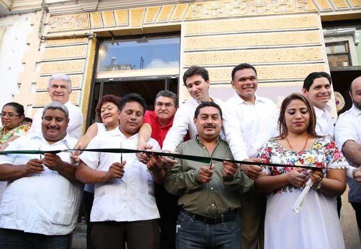 Inauguración de la Casa del 14, en octubre del año pasado. (SIPSE/Archivo)
