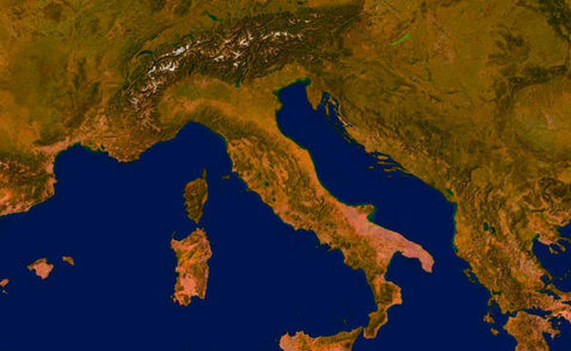 """El anticiclón """"Lucifer"""" procedente de África ha desatado una ola de calor extremo en Italia. (Especial/Milenio)."""