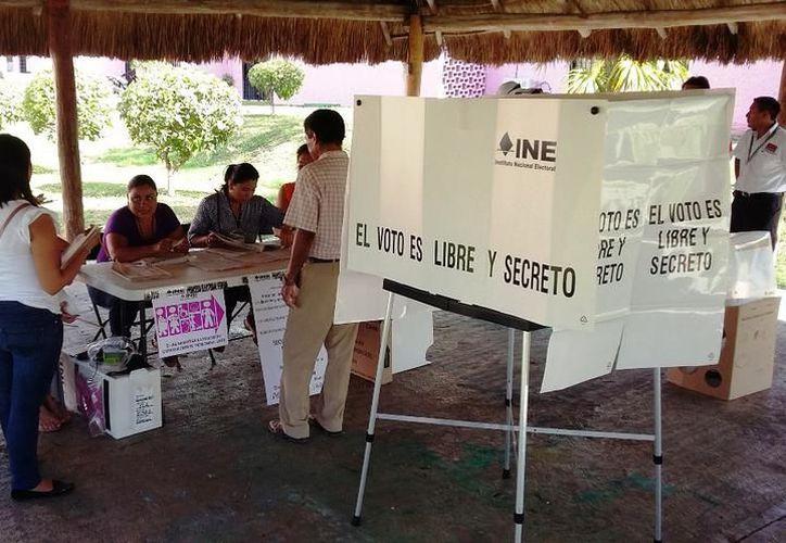 Se señaló que la prioridad es combatir los delitos electorales. (Daniel Pacheco/SIPSE)