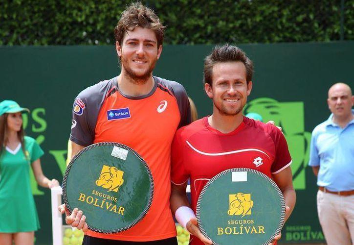 La federación Chilena de tenis recibirá a la selección mexicana de la especialidad por la segunda ronda de la Copa Davis. (Fotografía: Facebook  FMT)