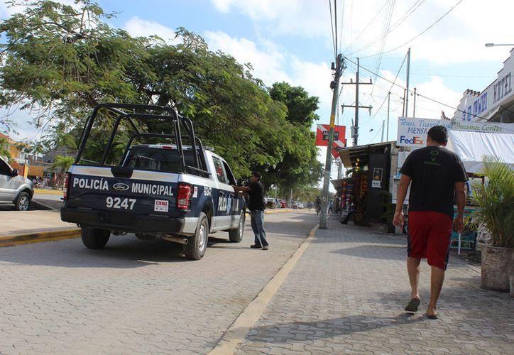 En gran parte de los casos donde interviene seguridad pública es para detener a los presuntos responsables. (Sara Cauich/ SIPSE)
