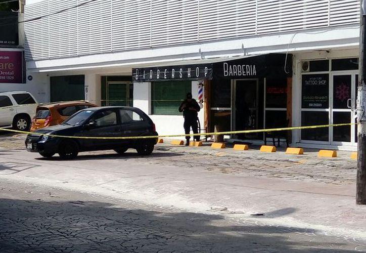 La ejecución se registró en un local que se ubica sobre la avenida Cobá, casi esquina con Yaxchilán. (Redacción/SIPSE)