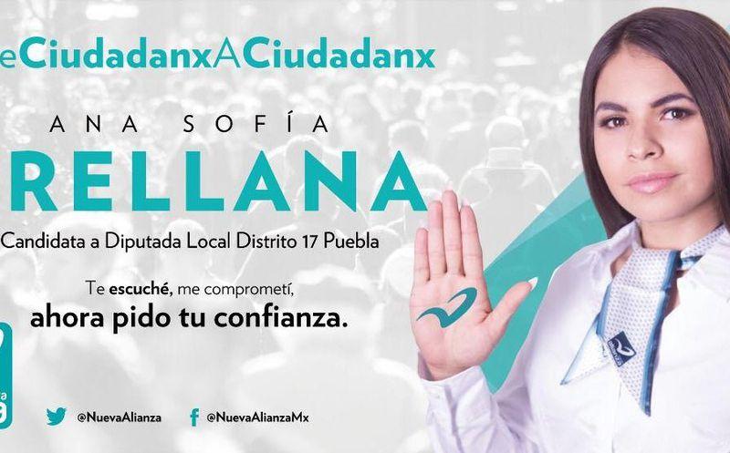 En su perfil, la candidata del Distrito 17 de Puebla afirma que tiene 24 años de edad y es mamá de un pequeño. (Foto: Facebook).