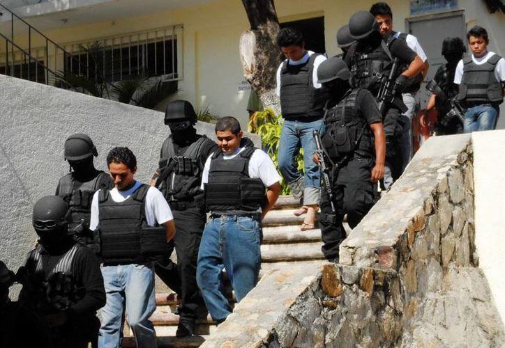 El pasado 8 de enero fueron detenidos nueve presuntos secuestradores y homicidas en el puerto de Acapulco. (Archivo/Notimex)