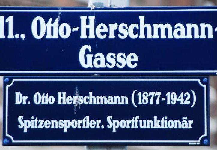 El velocista Otto Herchsmann es recordado hasta la fecha. (Agencias)