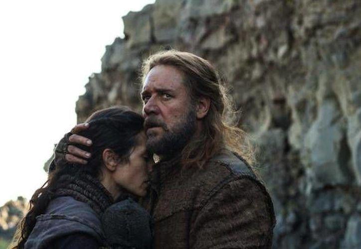El actor Russell Crowe está seguro que la película 'Noah' fascinará al papa Francisco. (Agencias)