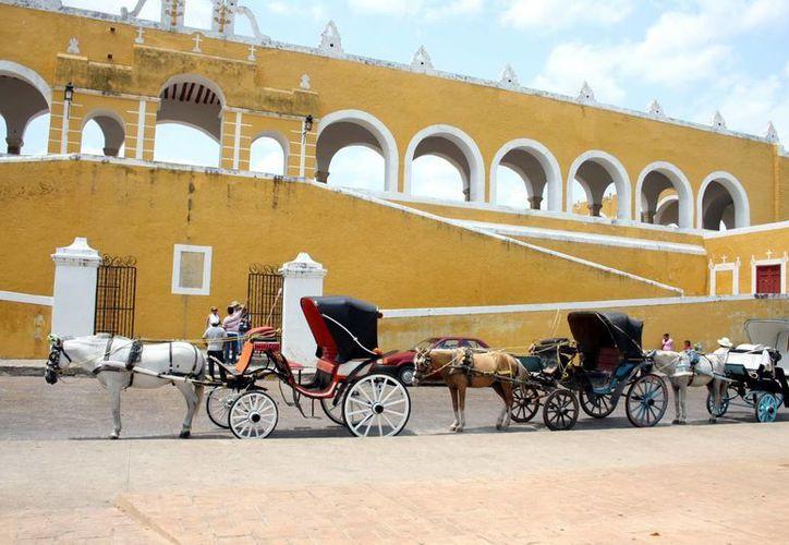 Izamal, uno de los pueblos mágicos de Yucatán que es un gran atractivo para el turismo. (Milenio Novedades)