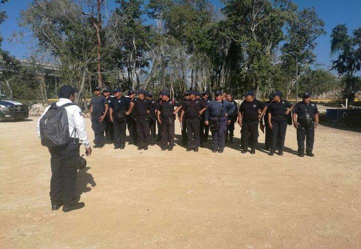 La Seguridad Pública informó que los recursos para la contratación de nuevos policías provienen del Fortaseg. (José Chi/SIPSE)
