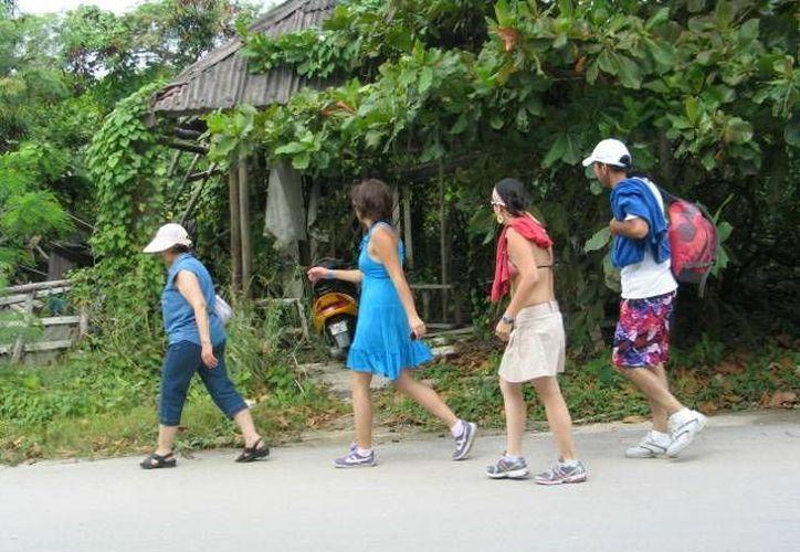 Denuncian que hace falta más orientación para los turistas.  (Rossy López/SIPSE)