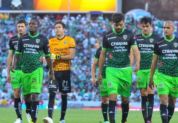 Jaguares de Chiapas se encuentra en la última posición de la Liga MX, al sumar 6 unidades en 15 partidos.(Notimex)