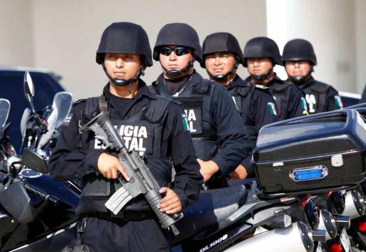 Según las autoridades, la policía de Yucatán es la mejor evaluada del país. (Milenio Novedades)