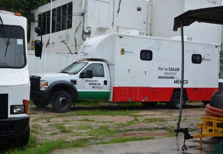Con los recursos destinados para el programa se compra el combustible para las unidades. (Harold Alcocer/SIPSE)