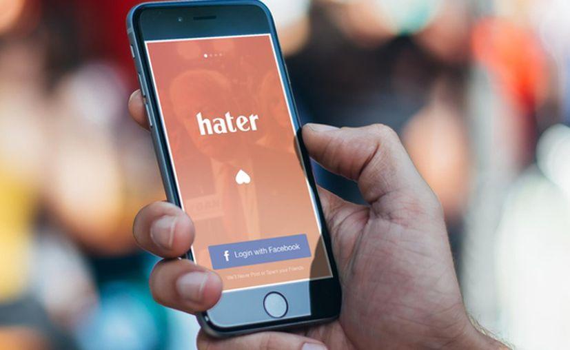 Hater, la app que te permite encontrar pareja según lo que odias. (Foto: Twitter)
