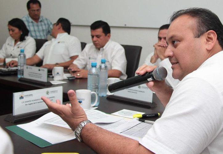 El presidente de la Comisión de Trabajo y Previsión Social, Ramón Humberto Escalante Cervera, indicó que el incremento solicitado tendrá que esperar un año más. (Gustavo Villegas/SIPSE)