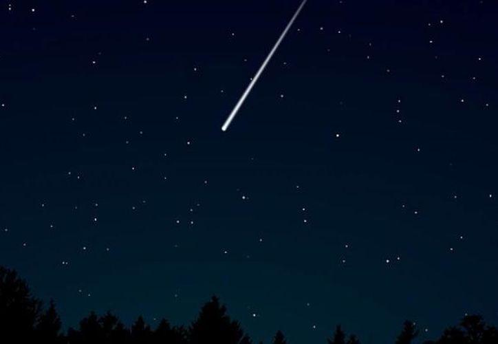 Una bola de fuego devolvió la luz durante cuatro segundos, al cielo nocturno de Phoenix. (Foto: Contexto)