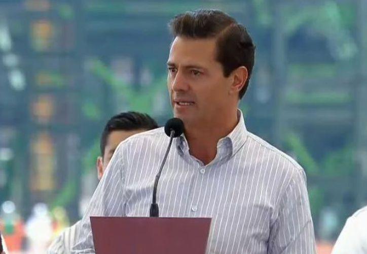 """El presidente de México ve esto como un """"gran descubrimiento"""". (Youtube)"""