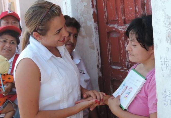 Jésica Saidén Quiroz es la nueva delegada del Conafe en Yucatán. (Milenio Novedades)