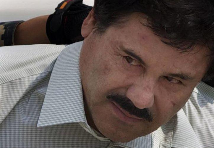 Joaquín Guzmán Loera fue capturado, por tercera vez, este viernes en el estado de Sinaloa. (AP/Archivo)
