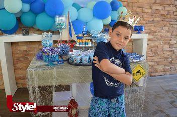 Celebran cumpleaños de Camilo Lezama Noriega