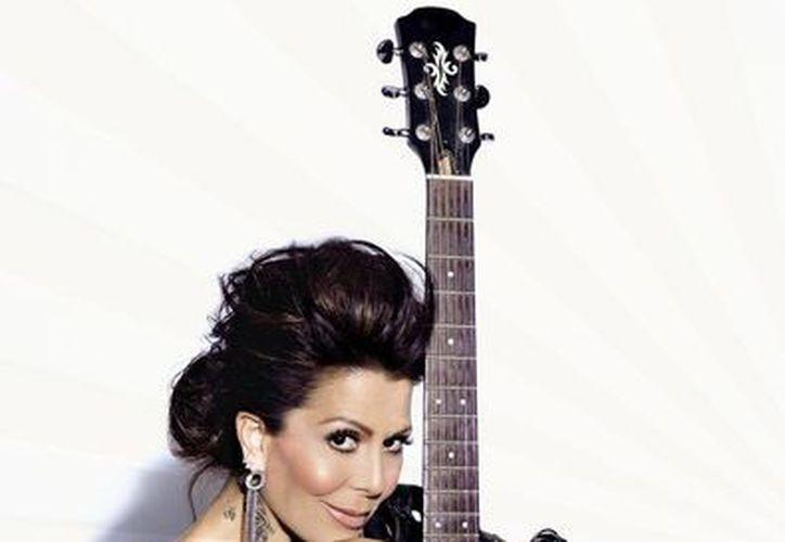 La rockera Alejandra Guzmán se presentará el 28 de este mes en la Plaza de Toros Mérida. (Milenio Novedades)