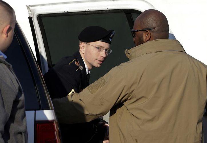 Bradley Manning testificó en el cuarto día de una audiencia preliminar en Fort Meade cerca de Baltimore. (Agencias)