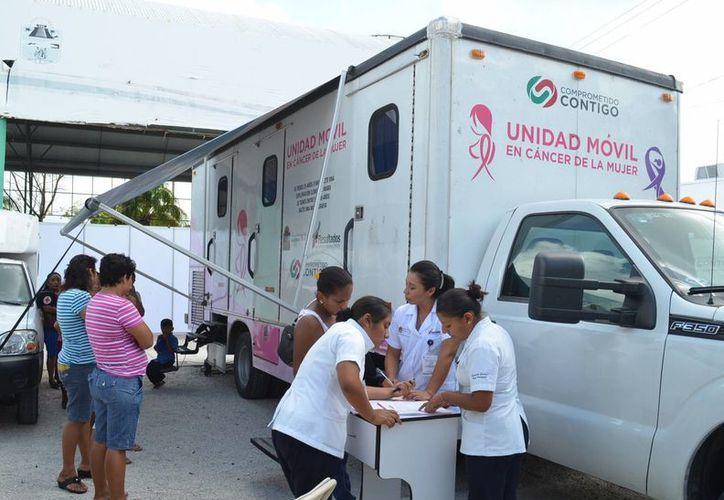 Las 16 Unidades Médicas Móviles atienden en nueve de los 10 municipios de Quintana Roo. (Archivo/SIPSE)