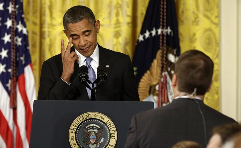 """""""Nadie está más ofendido que yo"""" por la nueva ley rusa que penaliza el activismo gay, afirmó Obama en la Casa Blanca. (Agencias)"""