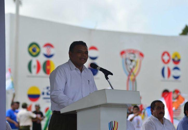 El gobernador Rolando Zapata pondrá el 'broche de oro' al Mundialito del Cereso de Yucatán. (Milenio Novedades)