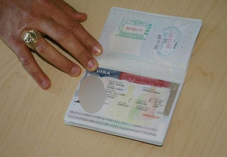 El retraso en el trámite de las visas es un asunto que el Departamento de Estado de EU asegura tomar con mucha seriedad. (Archivo/Notimex)